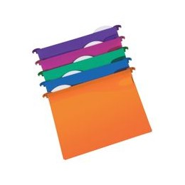 Rexel Multifile Extra Suspension File Polypropylene 30mm Base Assorted [Pack of 10]