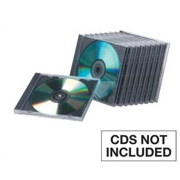 Fellowes CD Case Standard Jewel Case [Pack 10]
