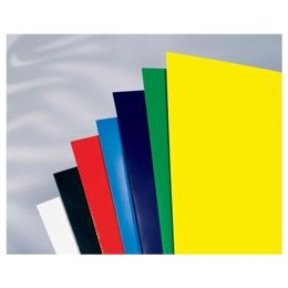 GBC Binding Covers Plain 250gsm A4 Gloss White [Pack of 50x2]