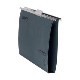 Leitz Ultimate Suspension File Recycled with Tabs Inserts 30mm Foolscap Green [Pack of 50]