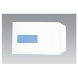 Envelopes Pocket Peel and Seal Window 100g White C5 [Pack of 500]