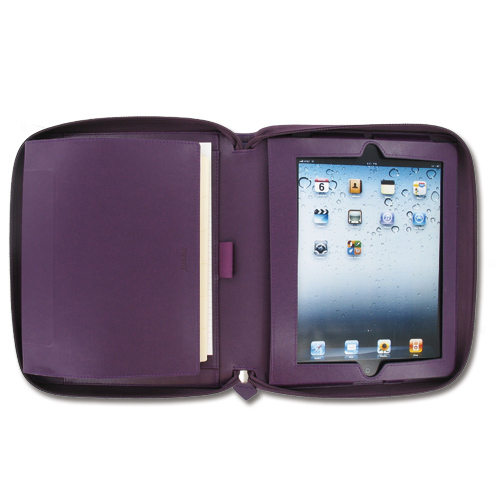 Filofax A5 Pennybridge iPad Organiser Purple