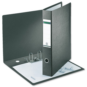 Leitz Board Lever Arch File A3 Upright Black [Alternative Picture 2]