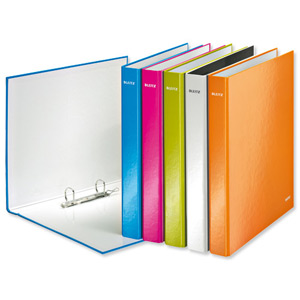 Leitz Wow Ringbinder A4+ Pink [Alternative Picture 2]