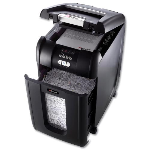 Rexel Auto 300x Shredder Black 2103250