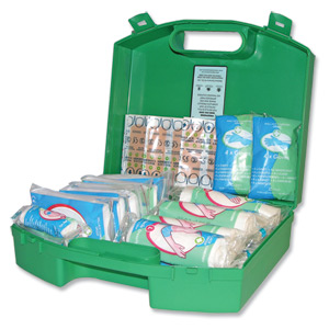 Wallace Cameron Green Box First Aid Kit for up to 10 People [Alternative Picture 2]
