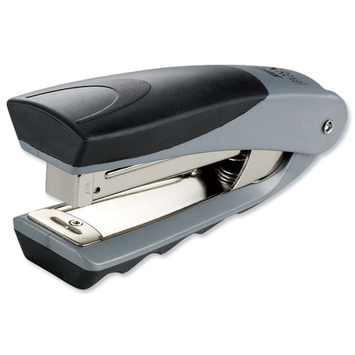 Rexel Centor Stand Up Stapler Silver and Black