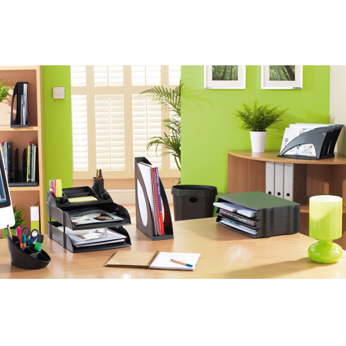Avery Desktop Desk Tidy Black