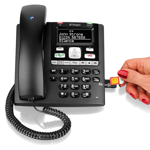 corded telephone answering machine