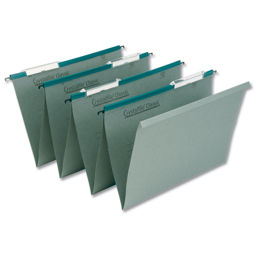 Twinlock Crystal Linked Suspensiuon Files Foolscap [Pack of 50]
