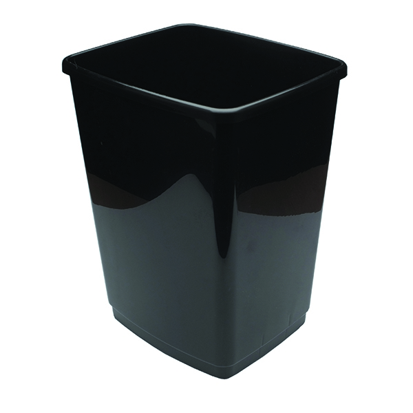2Work 50 Litre Swing Bin Base Black