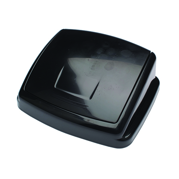 2Work 50 Litre Swing Bin Top Black