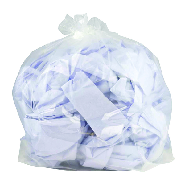 2Work Clearbags-on-Roll [Pack of 5x50]
