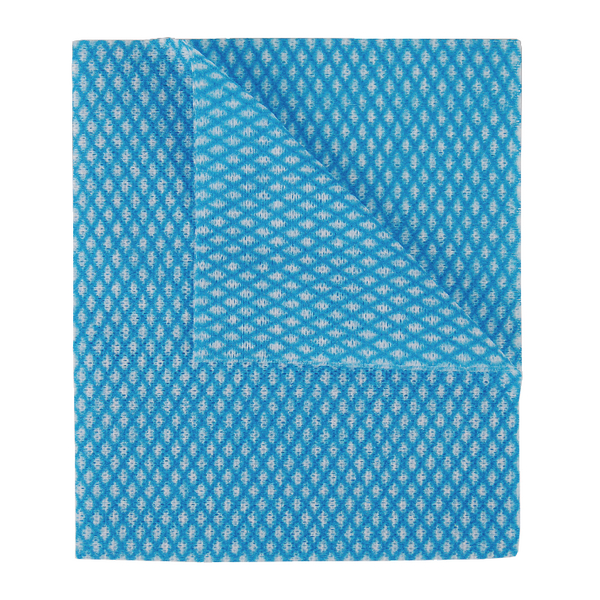 2Work Economy Cloths Blue 420x350mm [Pack of 50]