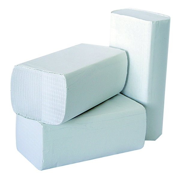2Work 1 Ply White M-Fold 24x240mm [Pack of 3000]