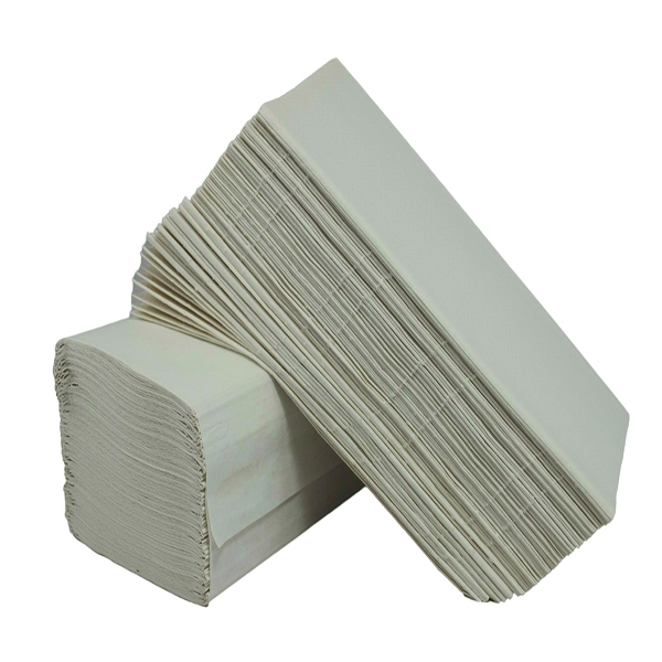 2Work 1 Ply White I-Fold 242x222mm [Pack of 3600]