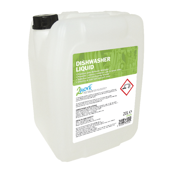 2Work Dishwasher Liquid 20 Litre