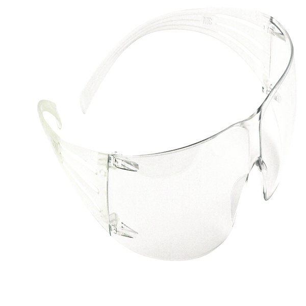 3M SF201 SecureFit Protective Eyewear Clear [Alternative Picture 1]