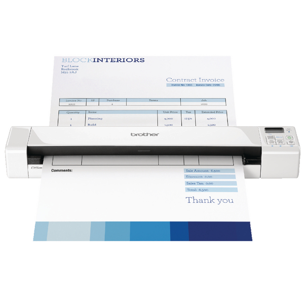 Brother DS-820W Mobile Document Scanner