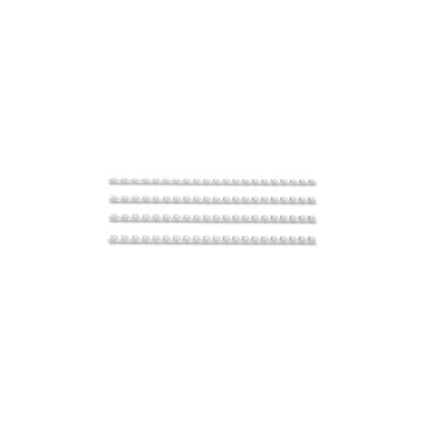 Fellowes Apex Plastic Binding Comb White 6mm [Pack of 100]