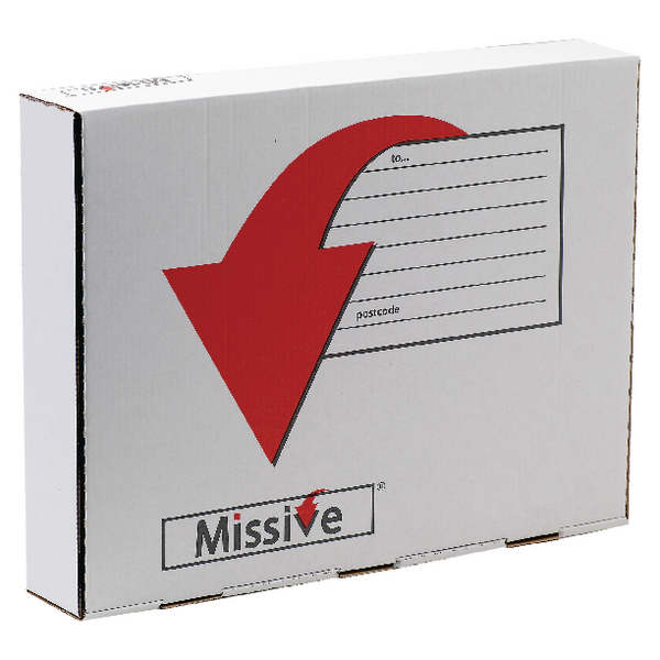 Missive Garment Mail Box with Free Choc [Pack of 20]