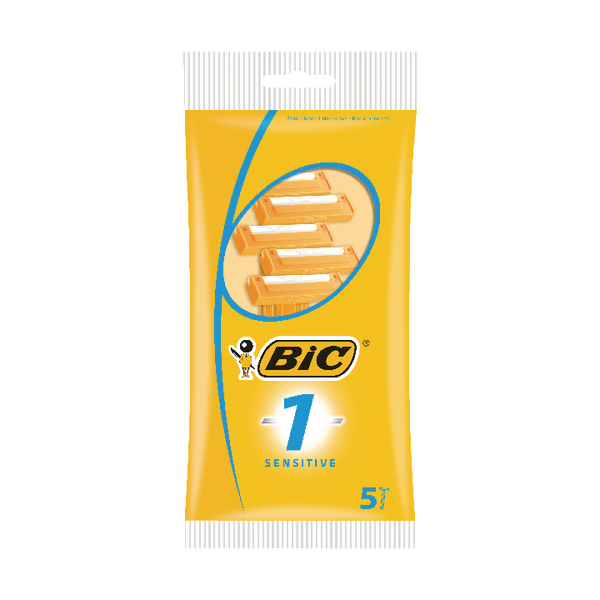 Bic 1 Sensitive Shavers [Pack of 200]