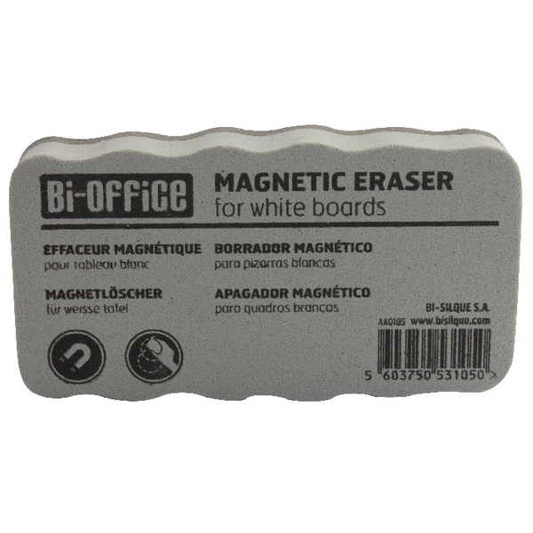 Bi-Office Lightweight Magnetic Board Eraser