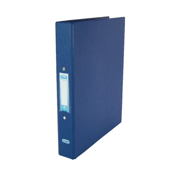 Elba A4 Ring Binder 2 O-Ring 25mm Blue [Pack of 10]