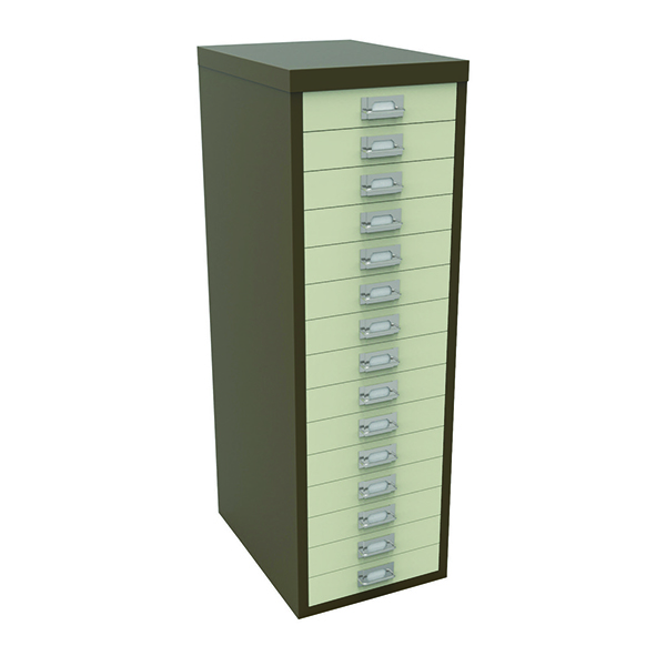 Bisley 15 Drawer Non-Lockable Multidrawer Coffee and Cream