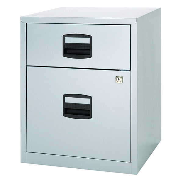 Bisley A4 Mobile Home Filer 2 Drawer Grey [Alternative Picture 1]