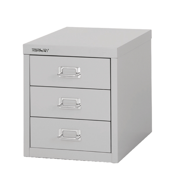 Bisley 3 Drawer Non-Lockable Multidrawer Grey