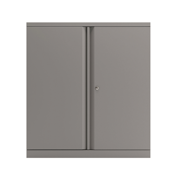 Bisley 2-Door Cupboard 1016mm Goose Grey