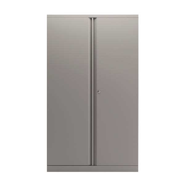Bisley 2 Door Cupboard 1585mm Grey