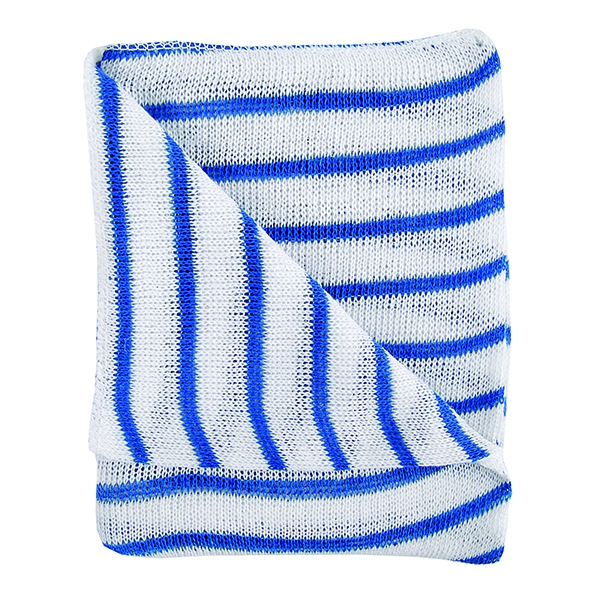 Contico Hygiene Cloth Blue and White [Pack of 10]