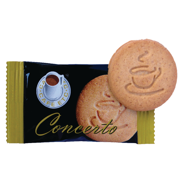Cafe Etc Concerto Biscuit Individually Wrapped [Pack of 300]
