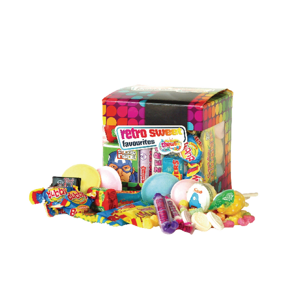 Chewbz Retro Sweets Cube Assorted 300g