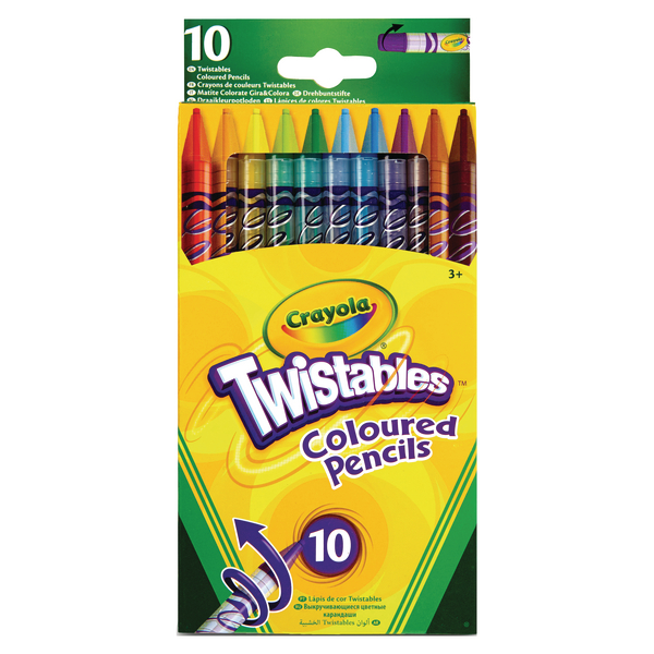 Crayola 10 Twistable Pencils [Pack of 6]
