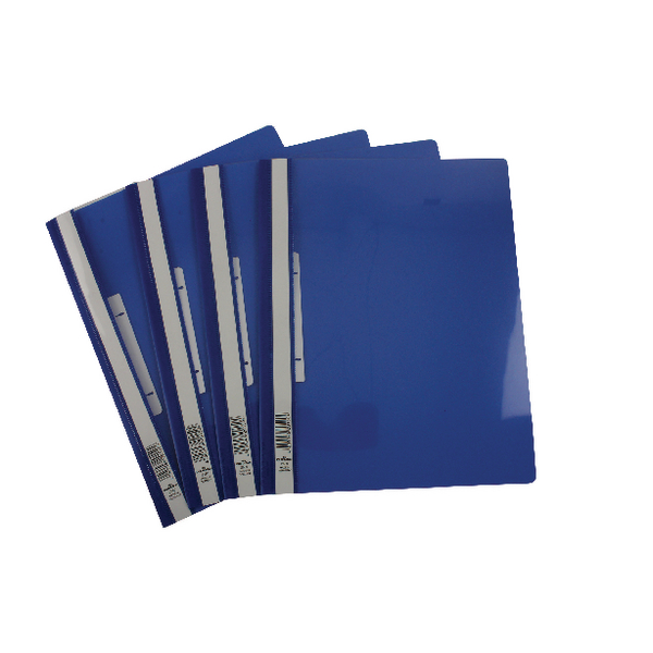 Durable Clearview Folder A4 Blue [Pack of 25]