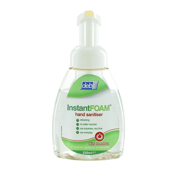 Deb Instantfoam 250ml Pump [Pack of 12]