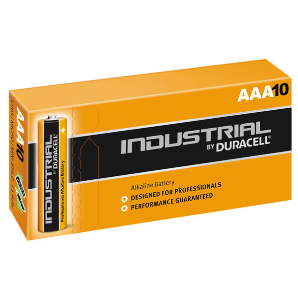 Duracell Industrial AAA Batteries [Pack of 10]