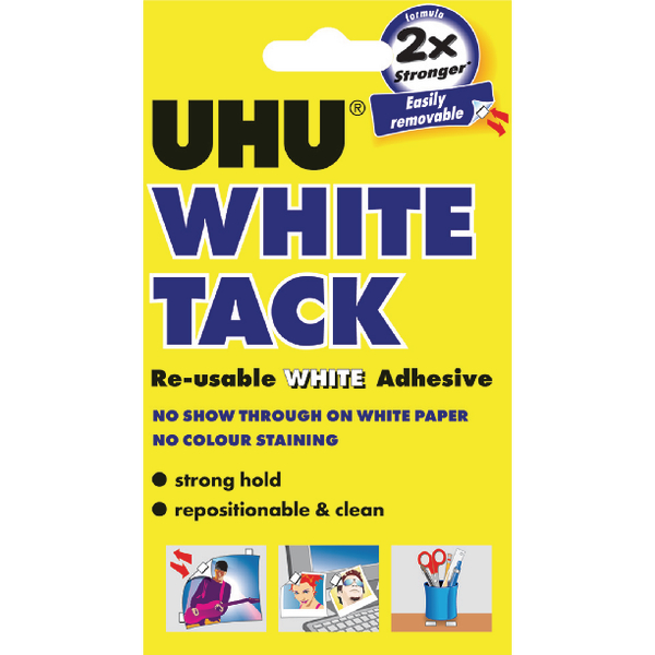 Uhu White Tack Handy 62g [Pack of 12]