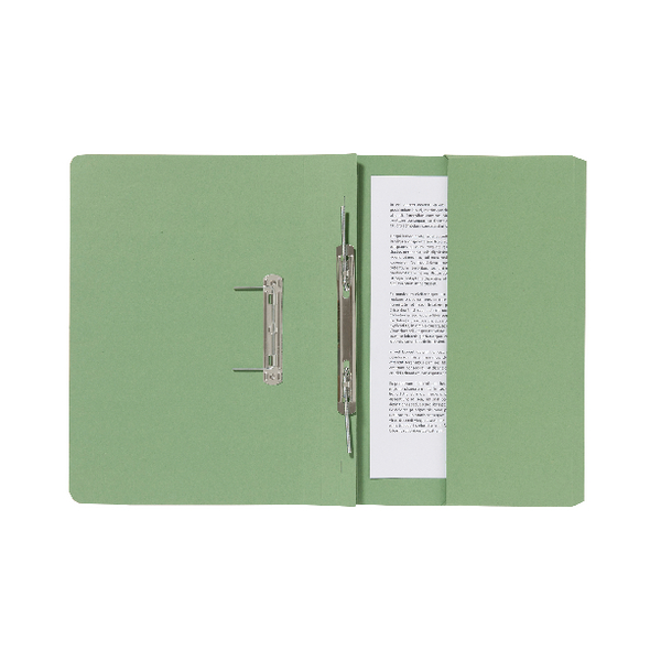 Guildhall Pocket Spiral File Green [Pack of 25]