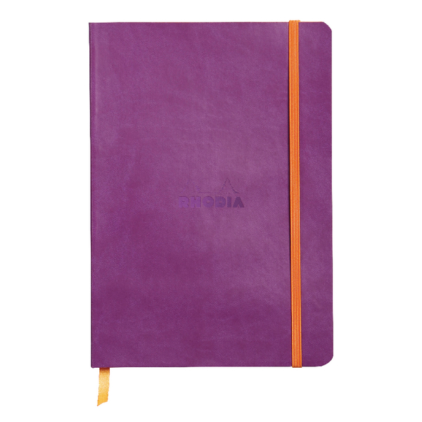 Rhodiarama Soft Cover A5 160 Page Violet Notebook