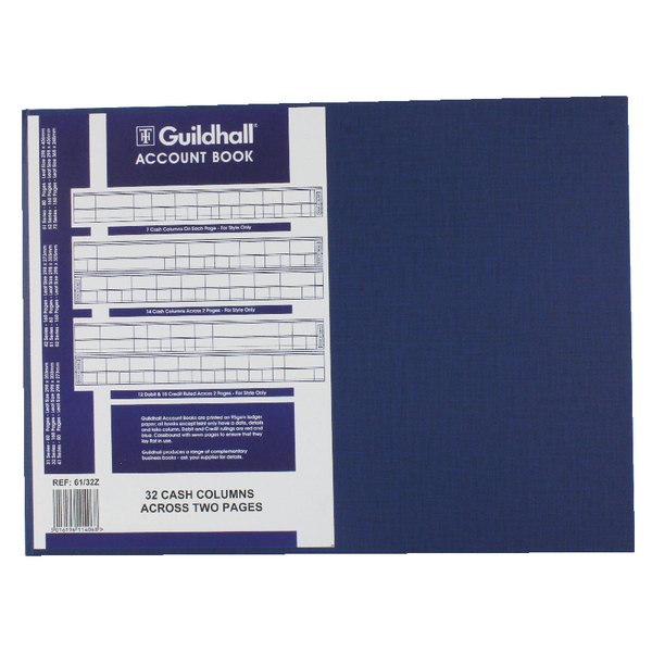 Guildhall Account Book 61/32