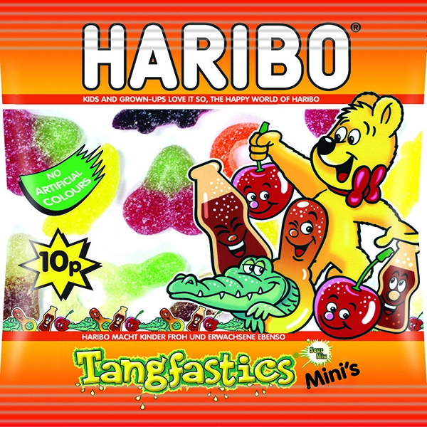 Haribo Tangfastics Small Bag [Pack of 100]