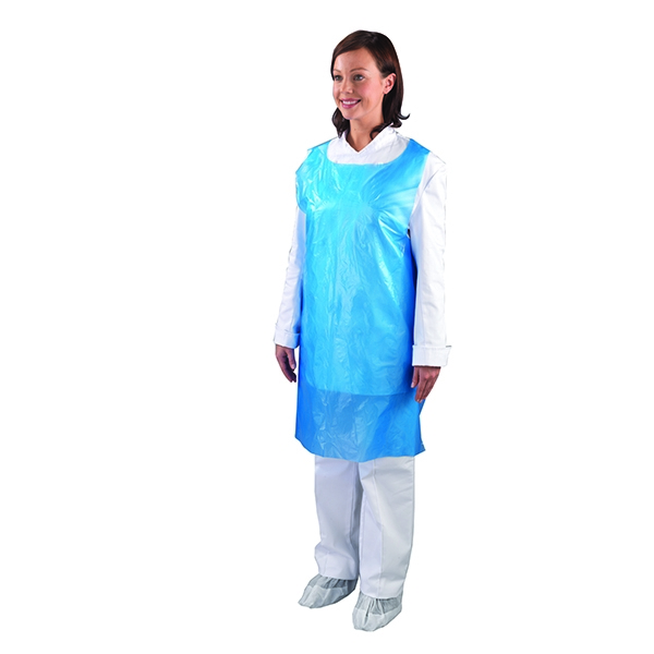 Shield Disposable Aprons-on-a-Roll White [Pack of 5x200]