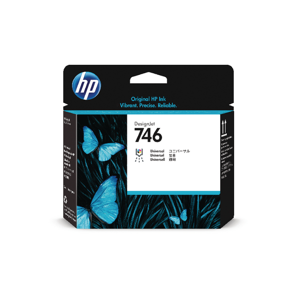 Hewlett Packard HP 746 Printhead P2V25A - DesignJet Z6 and Z9+ series large format printers