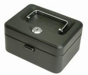 Helix Value Cash Box 6IN Black WN6010