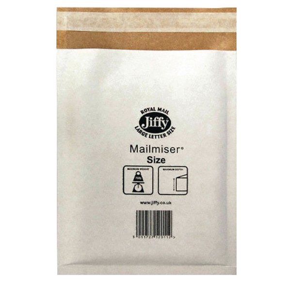 Jiffy Mailmiser 170x245mm [Pack of 10]