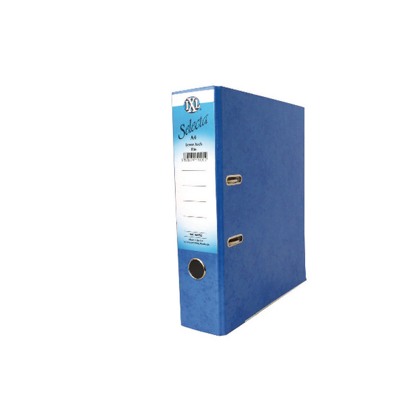 Concord IXL Selecta Lever Arch File A4 Blue [Pack of 10]